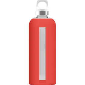Sigg Star Glass Flaske 0,85l Scarlet